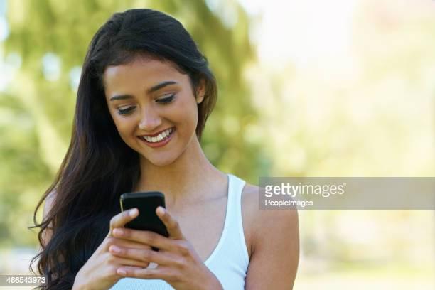 Social media nel parco