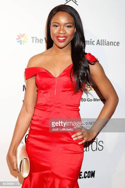 Social Media Influencer and Enytrpreneur Ivy Ejam attends the 2017 Entrepreneur Awards at Allure Events And Catering on February 22 2017 in Van Nuys...