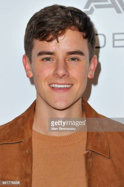 Social Media Influencer Connor Franta attends Warner Music Group's Annual GRAMMY Celebration at Milk Studios on February 12 2017 in Hollywood...