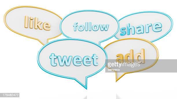 ソーシャルメディアのキーワード