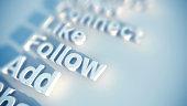 Social media keywords
