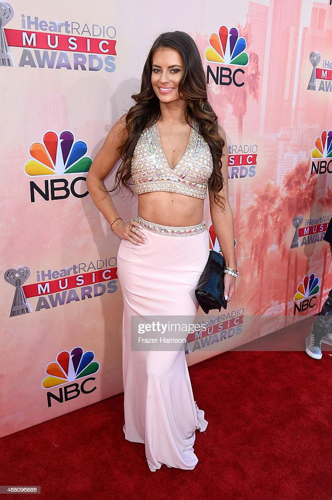 Social media personality Hannah Stocking attends the 2015 iHeartRadio Music Awards which broadcasted live on NBC from The Shrine Auditorium on March 29, 2015 in Los Angeles, California.
