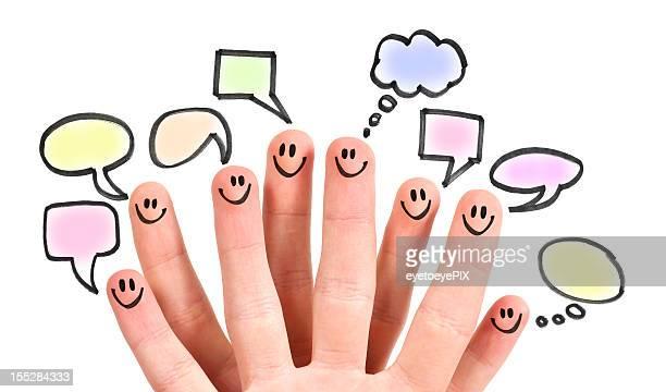Social Media Speech Bubbles