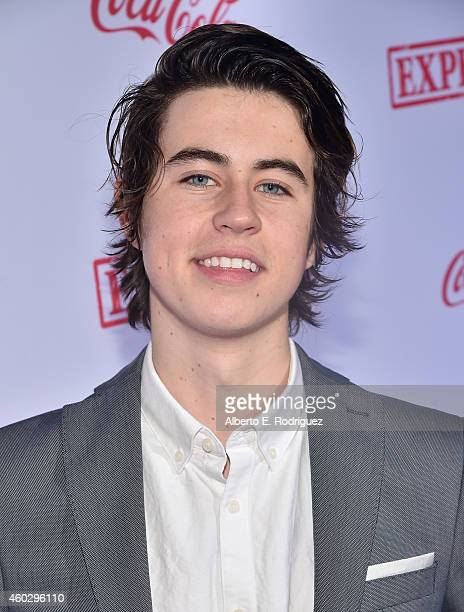 Social media star Nash Grier attends the premiere of Awesomeness TV's 'EXPELLED' at Westwood Village Theatre on December 10 2014 in Westwood...
