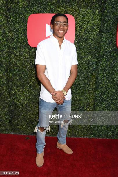 Social meida influencer Ken of De'arra and Ken attends the YouTube Pre BET Awards Showcase at NeueHouse Hollywood on June 24 2017 in Los Angeles...
