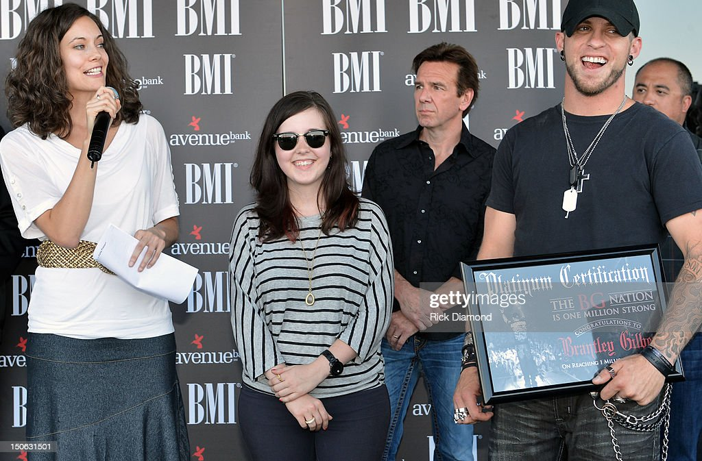 Social network – Big Machine Label Group's Annie Ortmeier, Brittney McKenna and Brantley Gilbert attendsBMI #1 Party For Singer/Co-Writer Brantley Gilbert and Co-Writer Jim McCormick for 'You Don't Know Her Like I Do' At BMI Nashville on August 22, 2012 in Nashville, Tennessee.