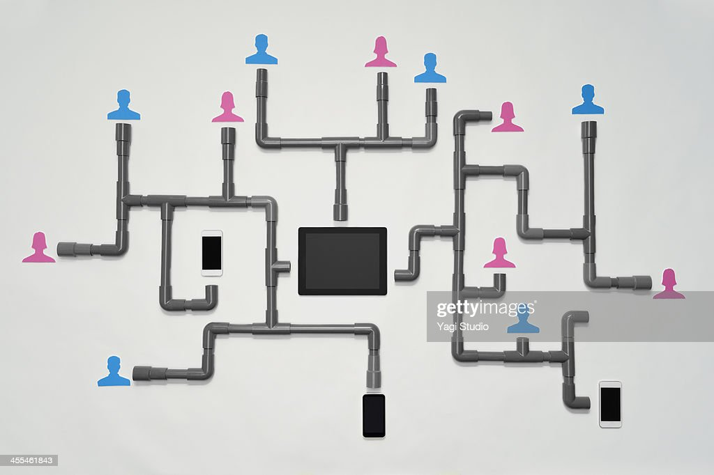 Social network : Stock Photo