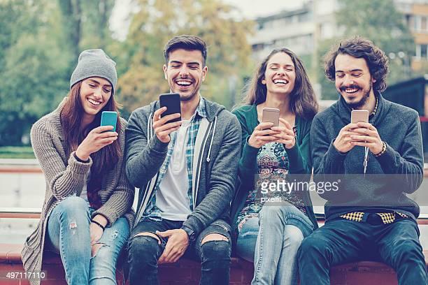 Social-networking-Konzept