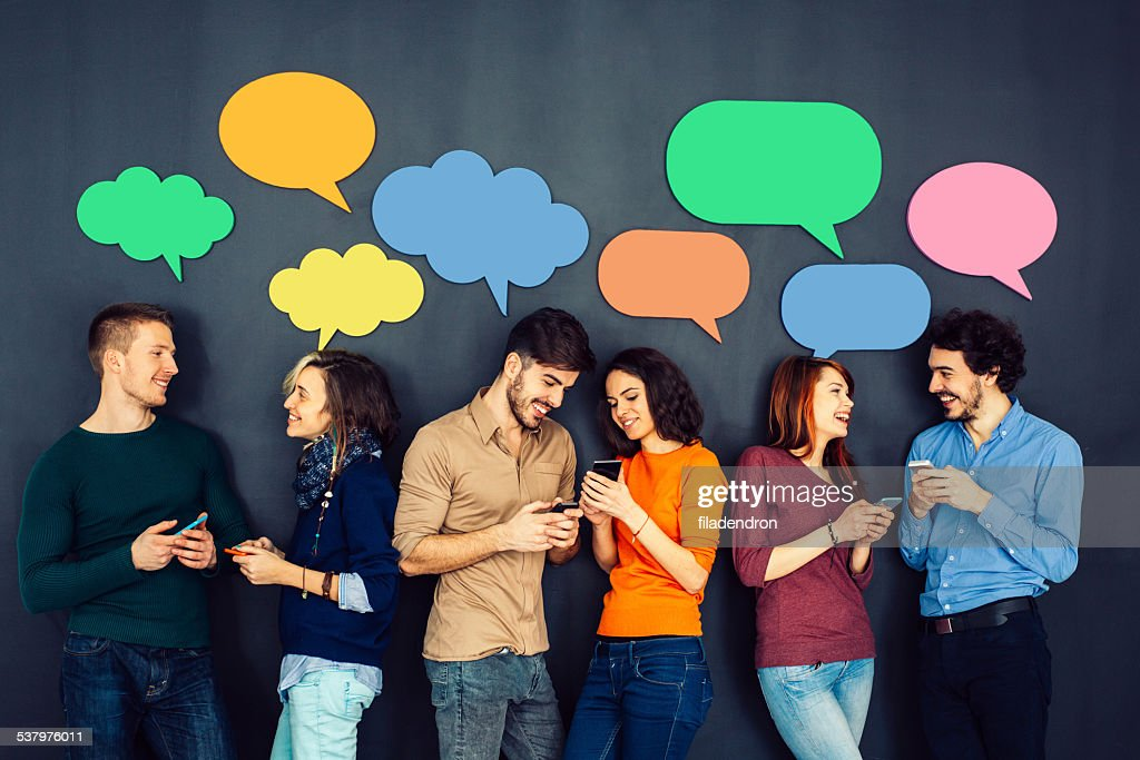 Social Netwroking : Stock Photo
