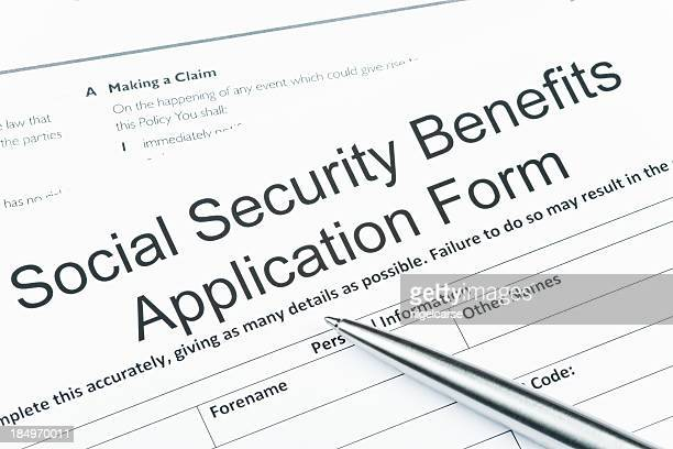 La sécurité sociale avantages formulaire de candidature