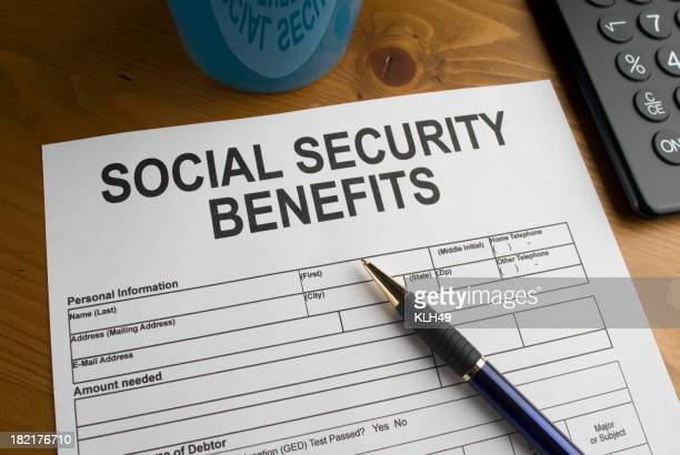 Social Securiy Benefits Form