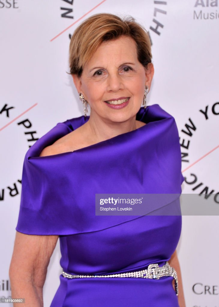 Socialite Adrienne Arsht attends The New York Philharmonic 172nd Season Opening Night Gala at Avery Fisher Hall, Lincoln Center on September 25, 2013 in New York City.