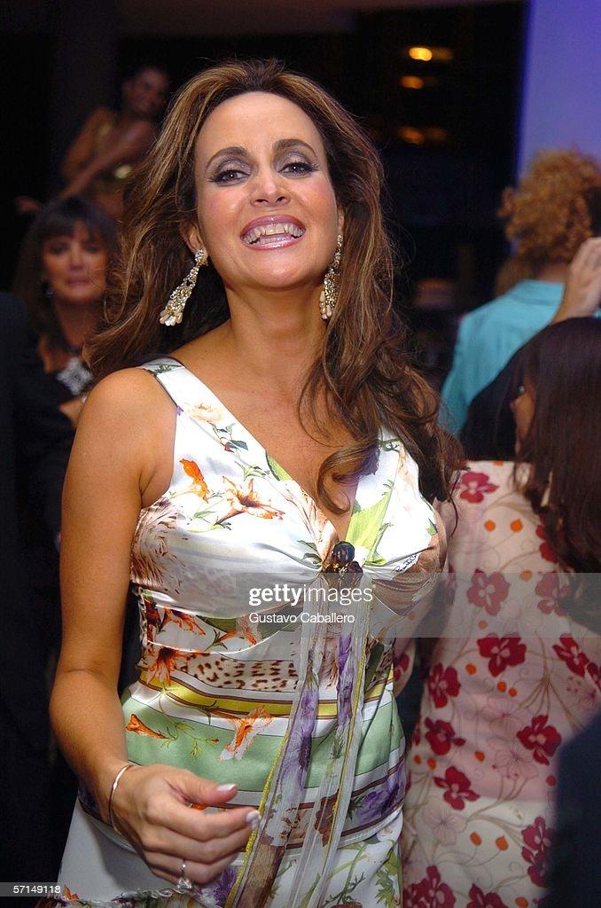 Socialite Ana Cristina Defortuna dances at the Jade Ocean Celebration on March 17, 2006 in Sunny Isles , Florida.