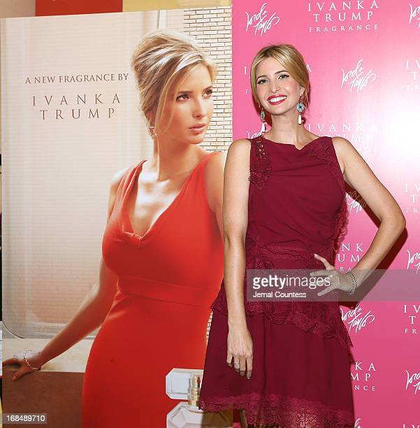 Socialite and entrepreneur Ivanka Trump launches her new fragrance 'Ivanka Trump' at Lord Taylor on May 9 2013 in New York City