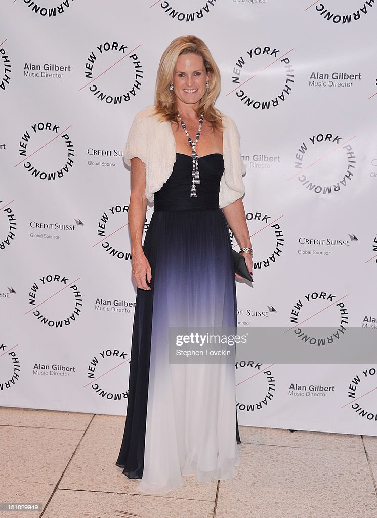 Socialite Ashley McDermott attends The New York Philharmonic 172nd Season Opening Night Gala at Avery Fisher Hall, Lincoln Center on September 25, 2013 in New York City.