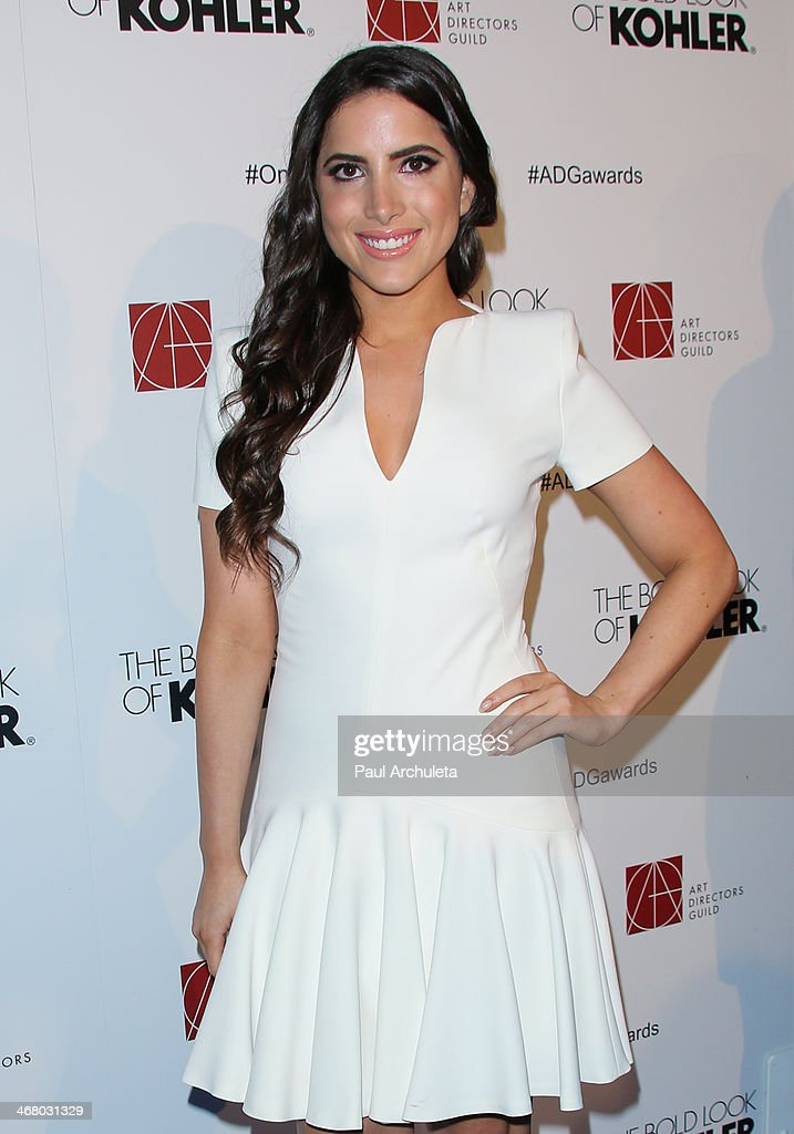 Socialite Caren Brooks attends the 18th Annual Art Directors Guild Excellence In Production Design Awards at The Beverly Hilton Hotel on February 8, 2014 in Beverly Hills, California.