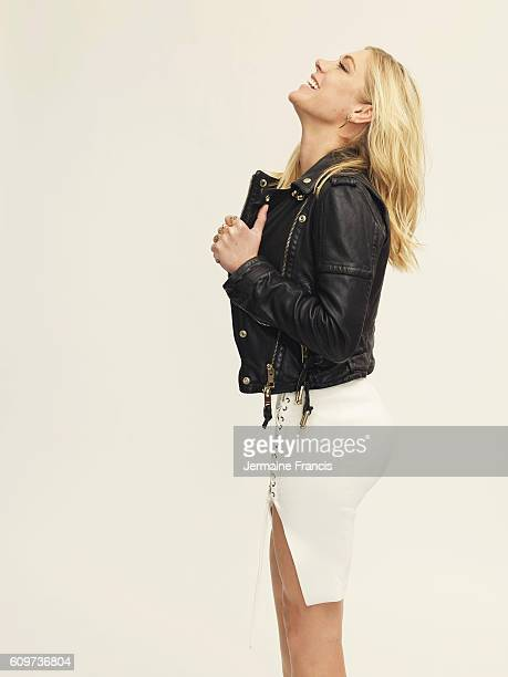 Socialite Chelsy Davy is photographed for the Sunday Times on April 27 2016 in London England