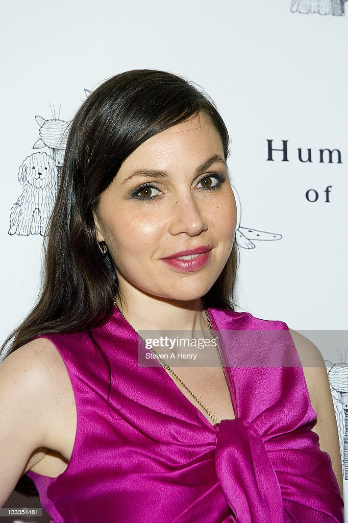 Socialite Fabiola Beracasa attends the Humane Society of New York's Third Benefit Photography Auction at DVF Studio on April 27 2010 in New York City