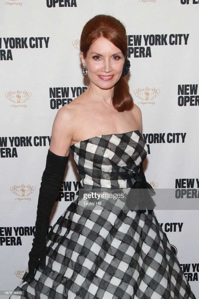 Socialite Jean Shafiroff attends the 2013 New York City Opera Spring Gala at New York City Center on April 25, 2013 in New York City.