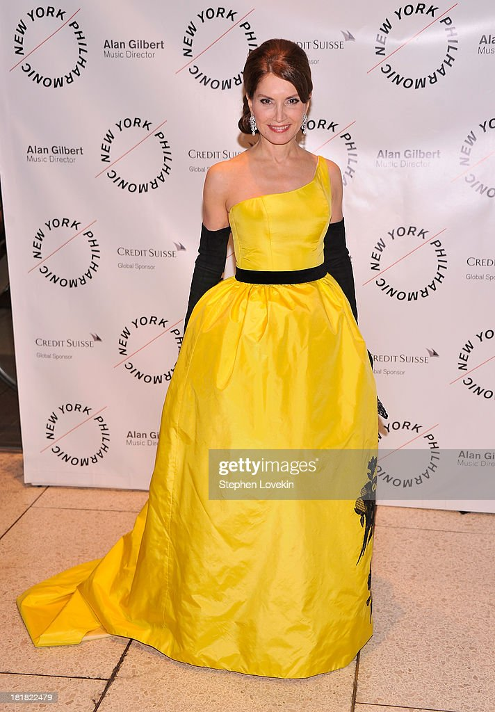 Socialite Jean Shafiroff attends The New York Philharmonic 172nd Season Opening Night Gala at Avery Fisher Hall, Lincoln Center on September 25, 2013 in New York City.