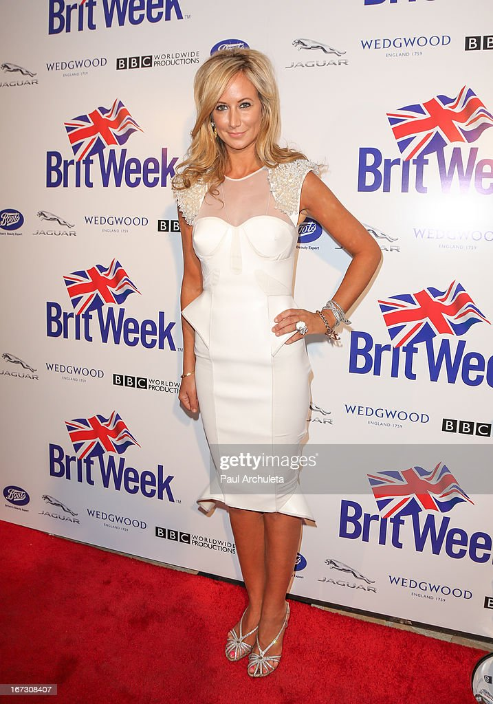 Socialite Lady Victoria Hervey attends the 7th annual BritWeek Festival 'A Salute To Old Hollywood' launch party at the British Consul General's Residence on April 23, 2013 in Los Angeles, California.