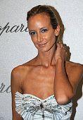 Socialite Lady Victoria Hervey attends the Chopard Trophy Award Party at Carlton Beach during the 61st Cannes International Film Festival on May 19...