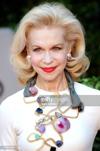 Socialite Lynn Wyatt arrives at the Vanity Fair Oscar party hosted by Graydon Carter held at Sunset Tower on February 27 2011 in West Hollywood...