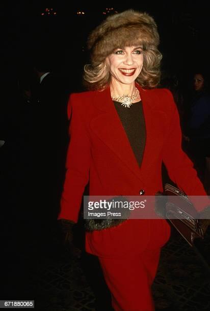 Socialite Lynn Wyatt circa 1988 in New York City