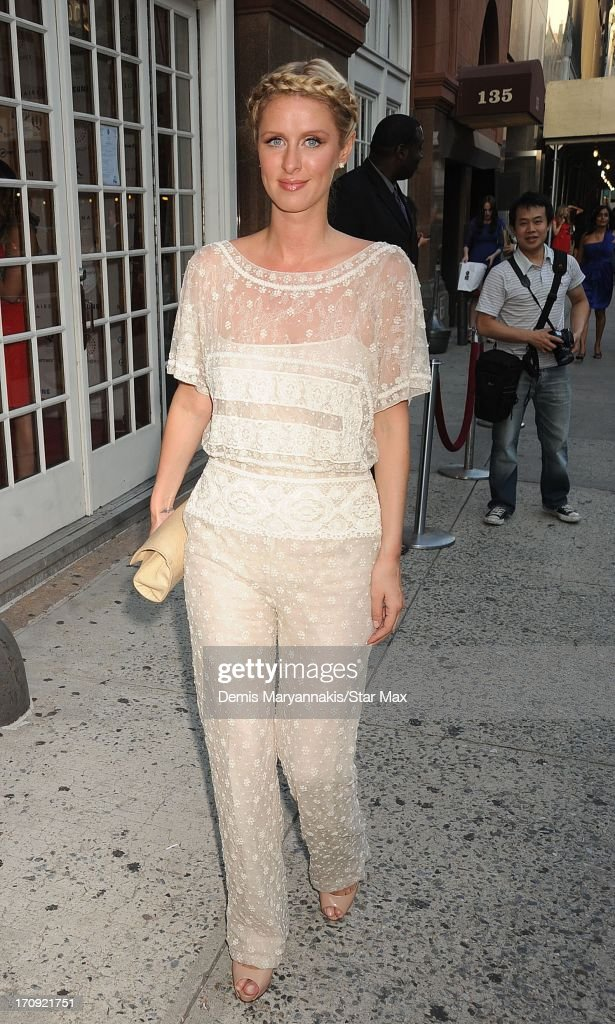 Socialite Nicky Hilton as seen on June 19, 2013 in New York City.