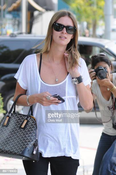 Socialite Nicky Hilton sighting on August 13 2009 in West Hollywood California
