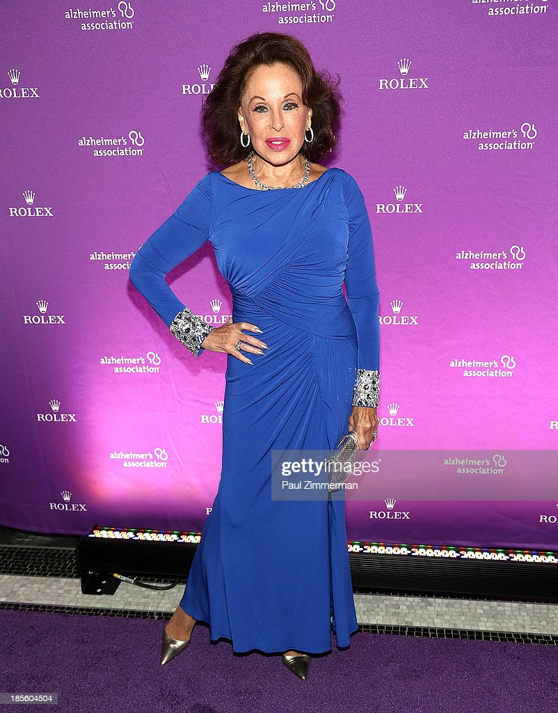Socialite Nikki Haskell attends 2013 Alzheimer's Association Rita Hayworth 30th Anniversary gala at The Waldorf=Astoria on October 22, 2013 in New York City.