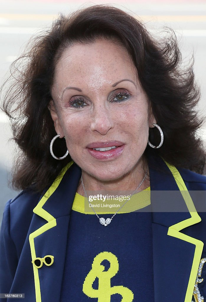 Socialite Nikki Haskell attends a signing for Clive Davis' book 'The Soundtrack of My Life' at Book Soup on March 15, 2013 in West Hollywood, California.