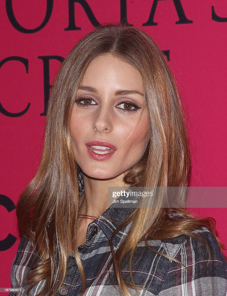 Socialite Olivia Palermo attends the 2013 Victoria's Secret Fashion Show at Lexington Avenue Armory on November 13, 2013 in New York City.