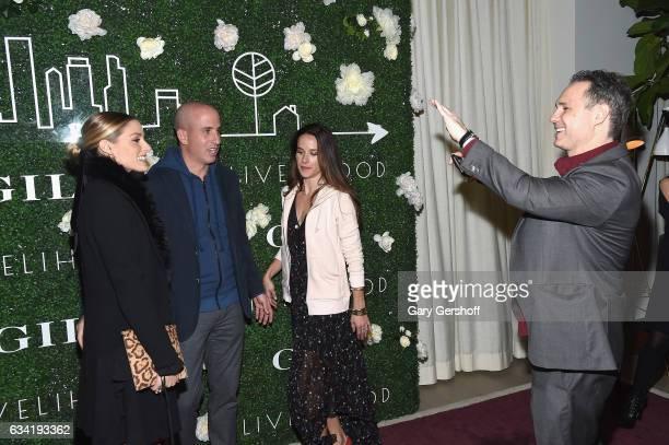 Socialite Olivia Palermo Gilt Saks OFF 5TH President Jonathan Greller Livelihood founder Ashley Biden and DuJour Media founder Jason Binn attend Gilt...
