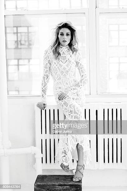 Socialite Olivia Palermo is photographed for Fashion Magazine on December 15 2015 in New York City ON DOMESTIC EMBARGO UNTIL JUNE 1 2016 ON...