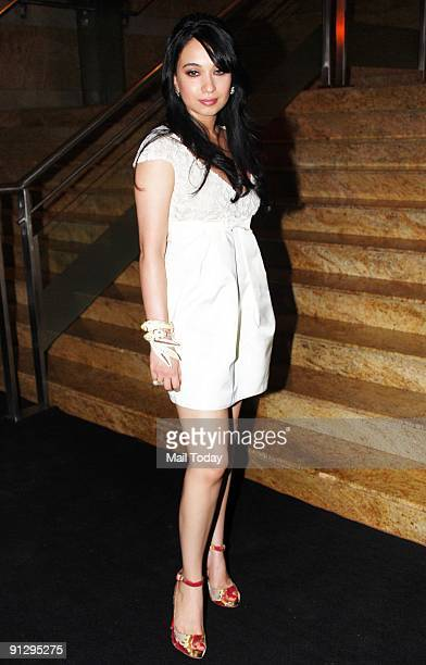 Socialite Sheetal Mafatlal arrive to attend The �GQ Men� of The Year Awards ceremony in Mumbai on Sunday September 27 2009