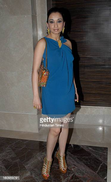 Socialite Sheetal Mafatlal during the launch of Rochelle Pinto's book 'The Style Diary of a Bollywood Diva' at ShangriLa Hotel Lower Parel on...
