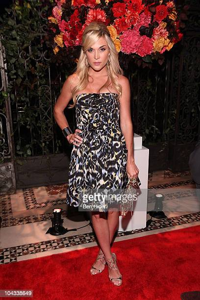 Socialite Tinsley Mortimer attends the 2010 New Yorkers For Children Fall Gala at Cipriani 42nd Street on September 21 2010 in New York City