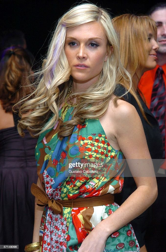 Socialite Tinsley Mortimer Defortuna poses at the Jade Ocean Celebration on March 17, 2006 in Sunny Isles , Florida.