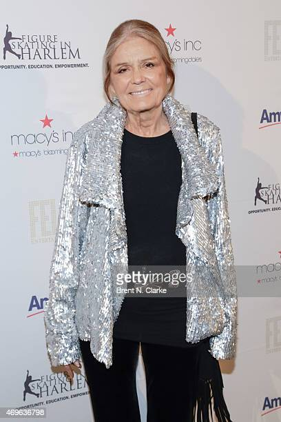 Social/political activist and event honoree Gloria Steinem arrives for The 10th Annual Skating With The Stars Benefit Gala held at 583 Park Avenue on...
