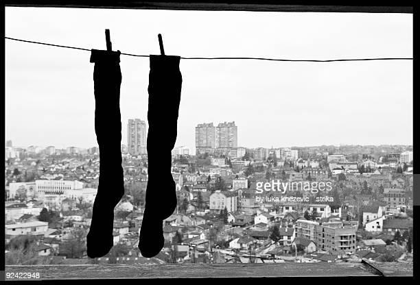 Socks over cityline