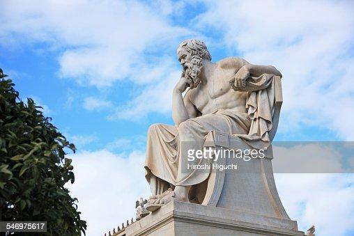 Socrates, Greece, Athens : Stock Photo