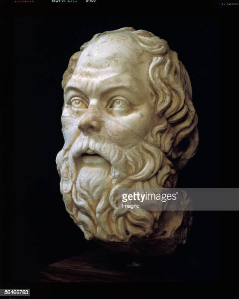 Socrates griech philosopher Bust marble [Socrates griech Philosoph Bueste Marmor]