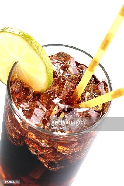 Soda Cola Close-Up