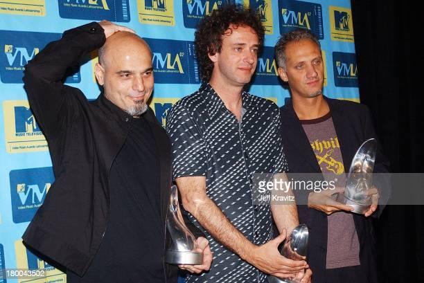 Soda Stereo during MTV Video Music Awards Latinoamerica 2002 at Jackie Gleason Theater in Miami FL