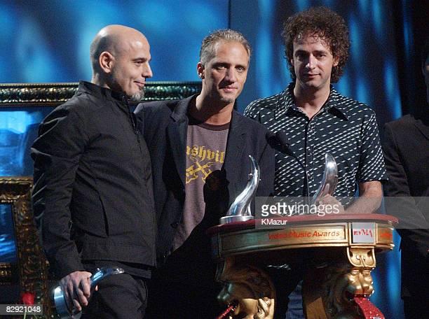 Soda Stereo wins the Lifetime Achievement Award at the MTV Video Music Awards Latinoamerica 2002