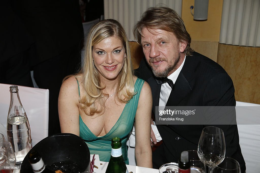 Soenke Wortmann and his wife Cecilia Kunz attend the Germany Filmball 2013 on January 19, 2013 in Munich, Germany.