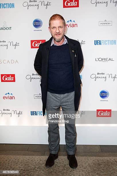 Soenke Wortmann attends the 'Berlin Opening Night Of Gala Ufa Fiction on February 05 2015 in Berlin Germany