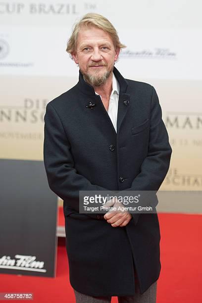 Soenke Wortmann attends the 'die Mannschaft' premiere at Potsdamer Platz on November 10 2014 in Berlin Germany