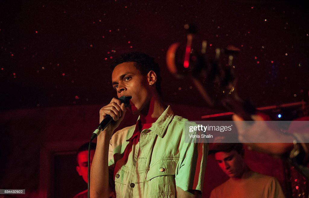 Soeren Holm of Liss performs at Moth Club on May 24, 2016 in London, England.